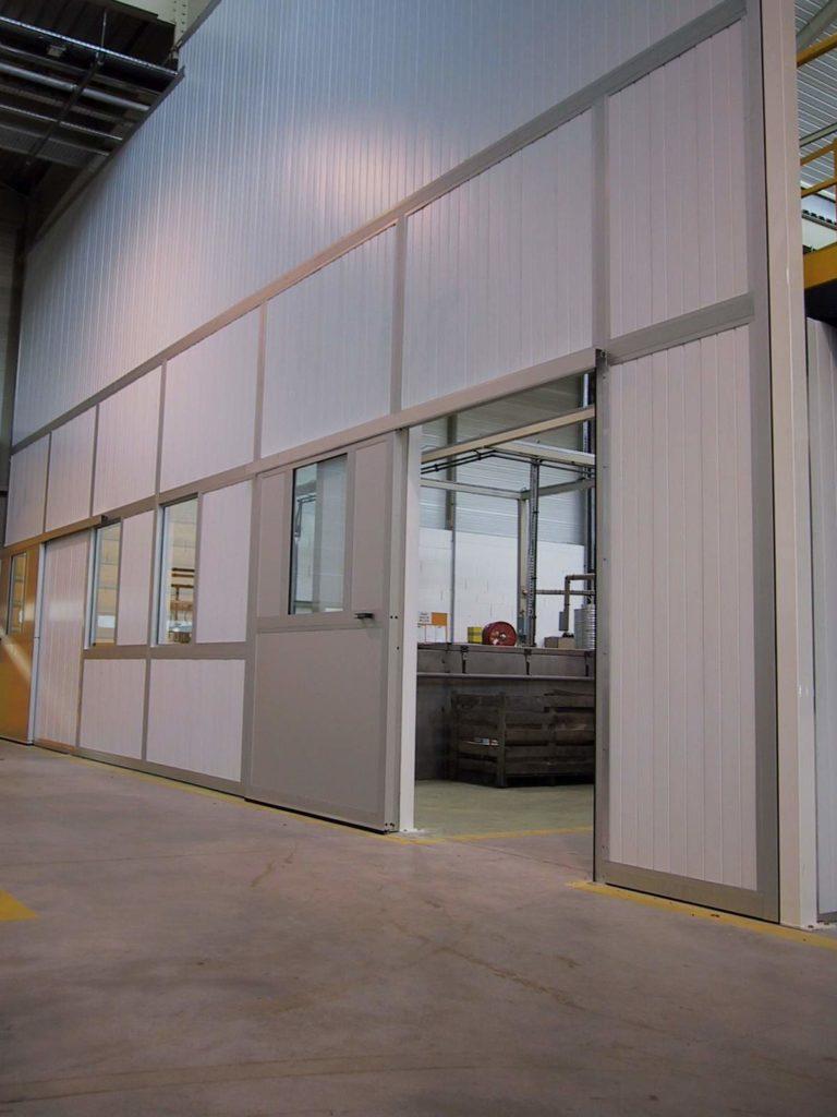 soundproof doors db vib ingénierie